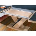 Table tonneau Ceram - Ateliers de Langres.