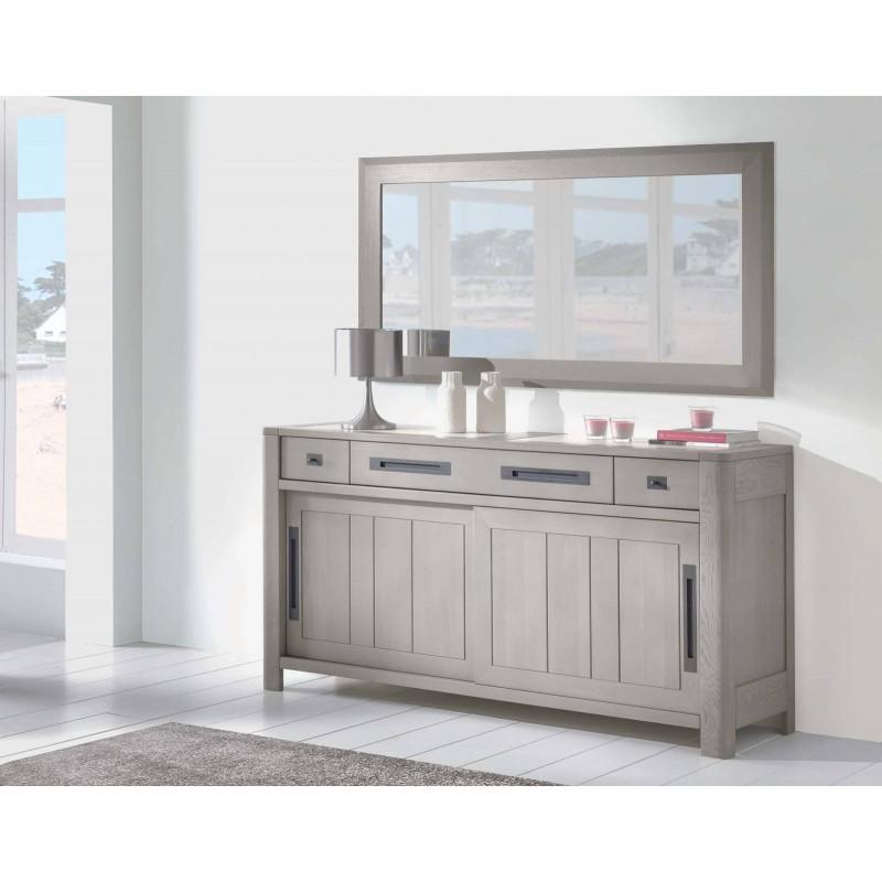 bahut 2 portes 3 tiroirs deauvil ateliers de langres. Black Bedroom Furniture Sets. Home Design Ideas