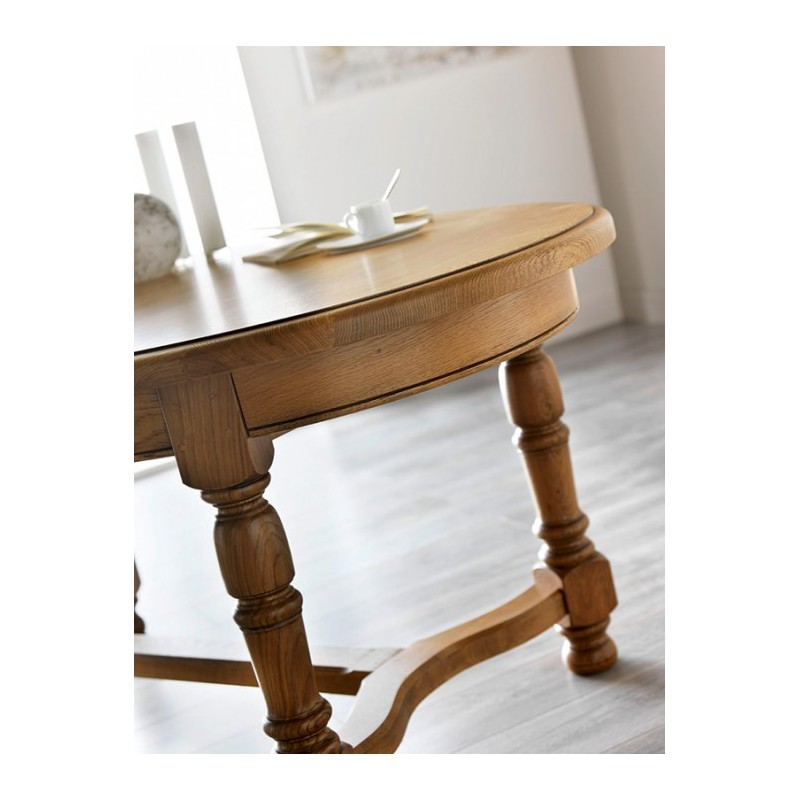Table basse salon ronde ou ovale for Table basse ronde ovale