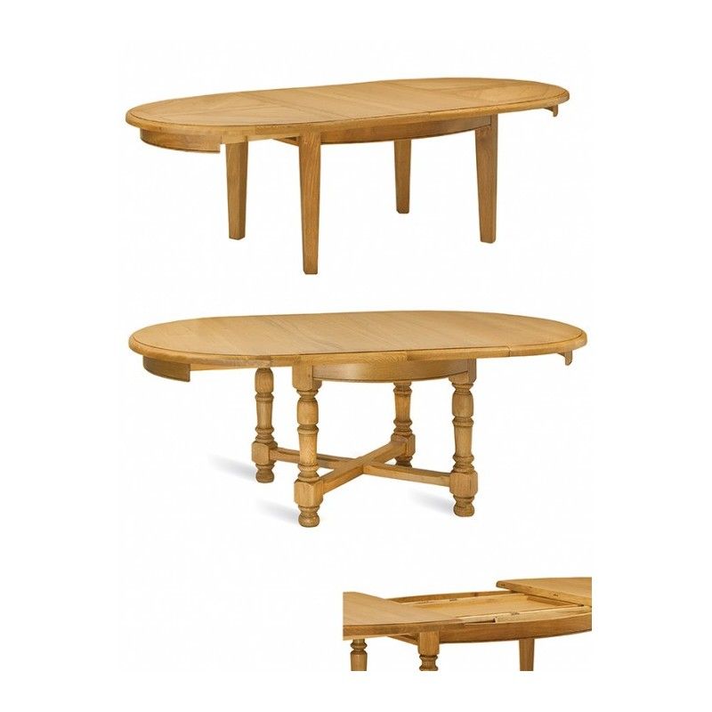 Table basse ovale ou ronde - Table basse ronde ovale ...
