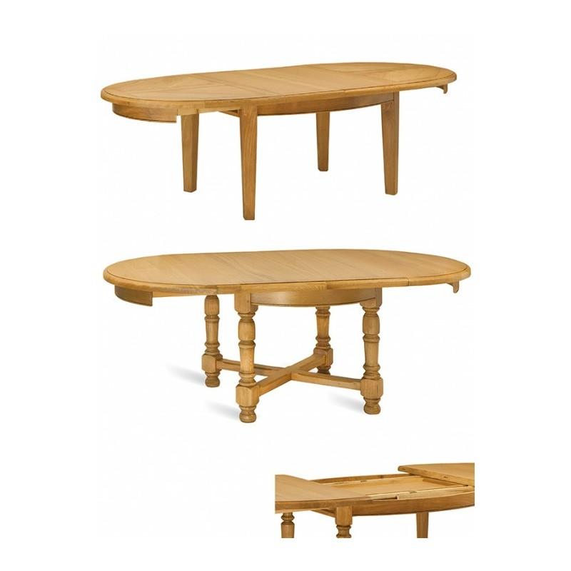 Table ronde ou ovale panneaux mercier - Table basse ronde ou ovale ...