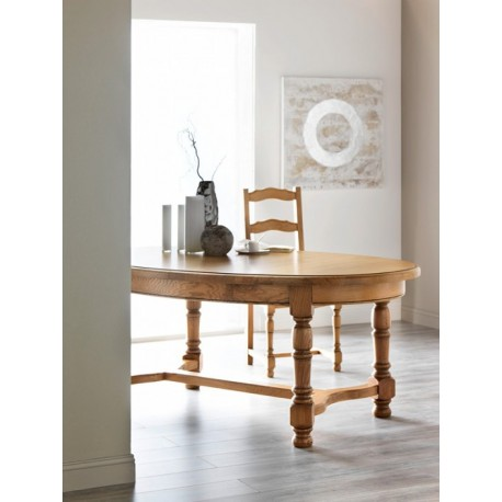 Table ronde ou ovale panneaux mercier for Table basse ronde ou ovale