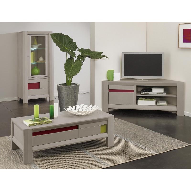 Meuble tv d 39 angle murano girardeau for Sejour meuble
