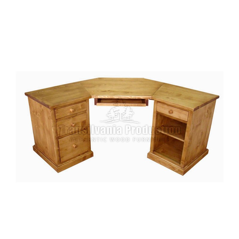 Bureau dangle Chamonix -> Bureau DAngle En Pin