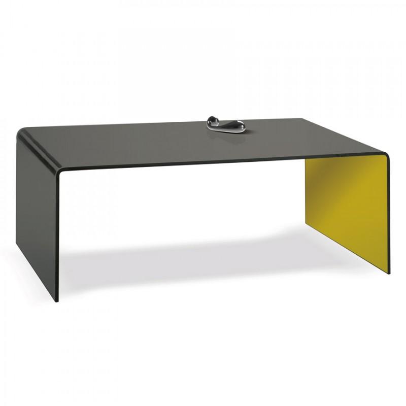 Table de salon rectangulaire manhattan motard - Table salon rectangulaire ...