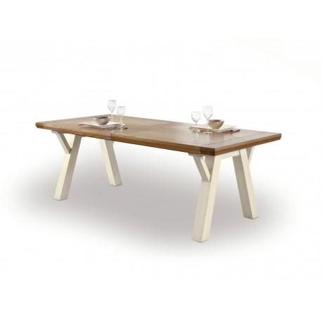 Table rectangulaire tréteaux Romance - Ateliers de Langres