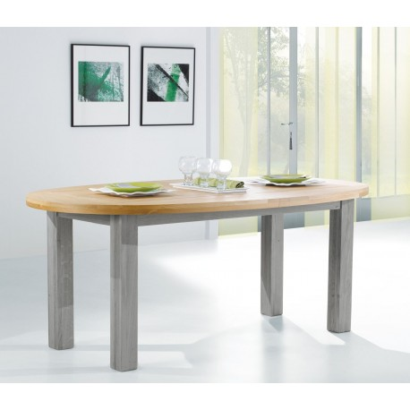Table ovale Romance - Ateliers de Langres