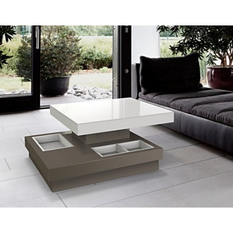 Table basse de salon c lia akante - Decoration table basse de salon ...