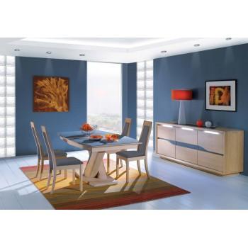 Bahut 3 portes Ceram -  Ateliers de Langres.