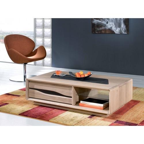Table basse 120x67 Ceram -  Ateliers de Langres.