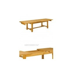 Table de ferme à panneaux - Mercier
