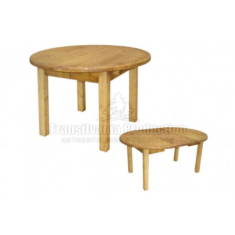 Table ronde 4 pieds Tradition