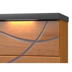 Chevet 2 tiroirs Serena - Minet