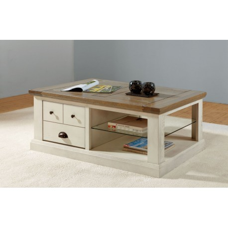 Table basse rectangle Romance - Ateliers de Langres