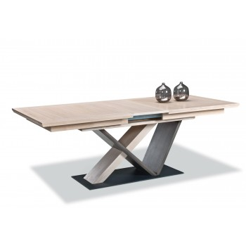 Table bois Pied central Belem -  Ateliers de Langres