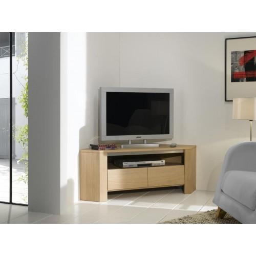 Meuble TV d'angle Yucca  -  Ateliers de Langres.