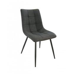 Chaise Textile enduit gris