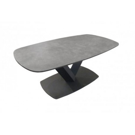 Table de salon ovale Céramique