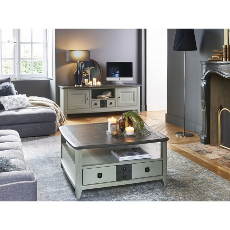 Table carrée Séraphine -  Ateliers de Langres