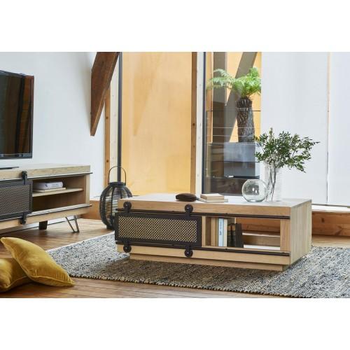 Table basse 1 porte Fusion - Couture